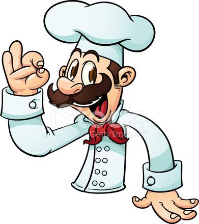 Cartoon Chef Stock Vector Freeimages Com