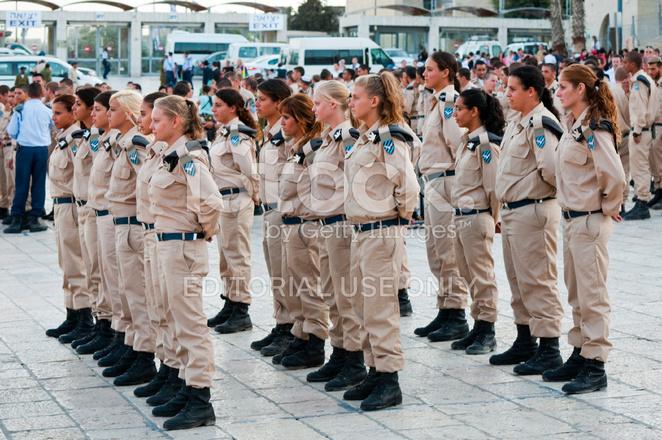 イスラエルの女性軍 ストックフォト freeimages com