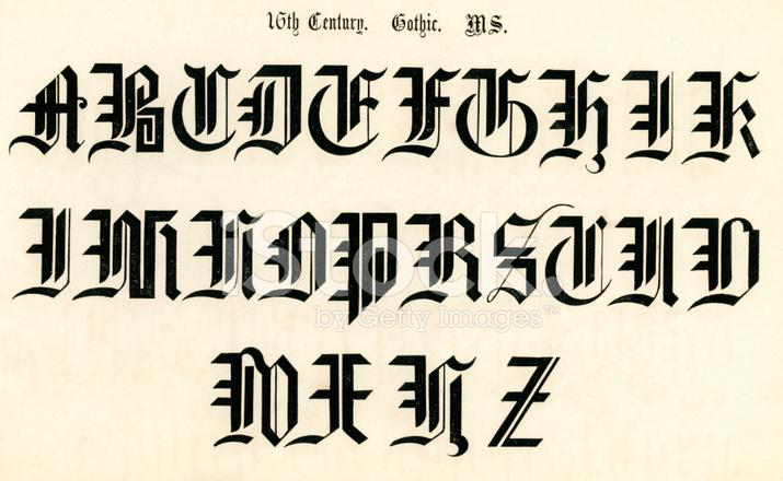 Decorative Alphabet Letters N