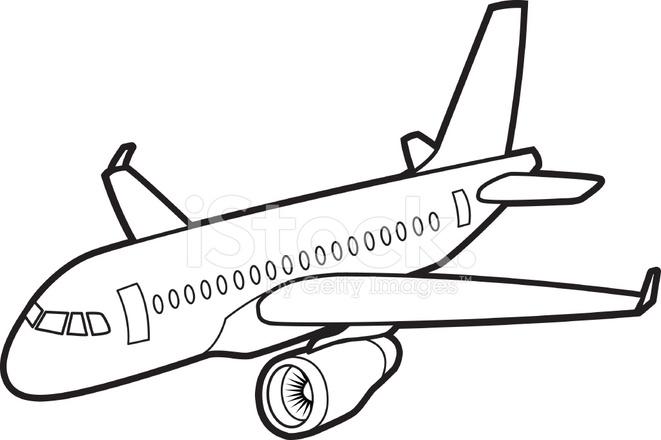Passenger Jet Aircraft Stock Vector - FreeImages.com