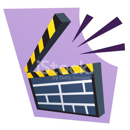 clapboard clip art stock vector freeimages com