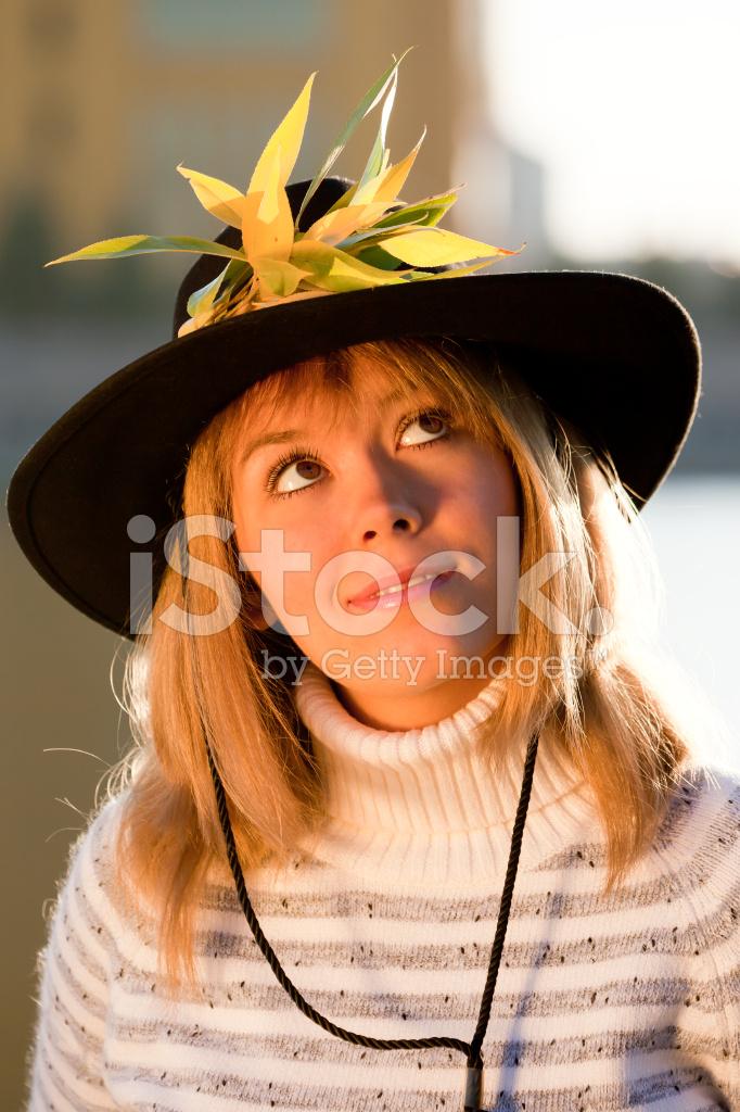 c8df4c600df Human IN Nature  Cow Girl amp ten Gallon Hat Stock Photos ...