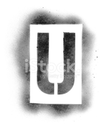 Stencil Letters In Spray Paint Stock Photos Freeimages Com