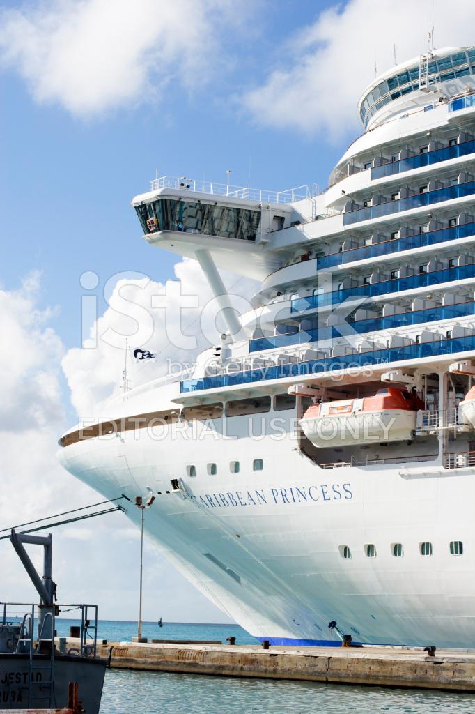 Princess Cruise Ship IN Aruba Stock Photos FreeImagescom - Cruise ships in aruba