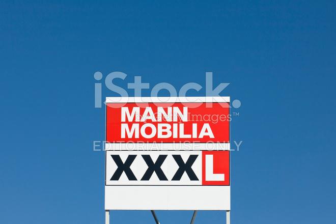 Mann Mobilia sign of mann mobilia xxxl furniture stock photos freeimages com