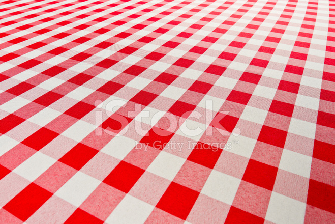 red checkered gingham table cloth stock photos - freeimages