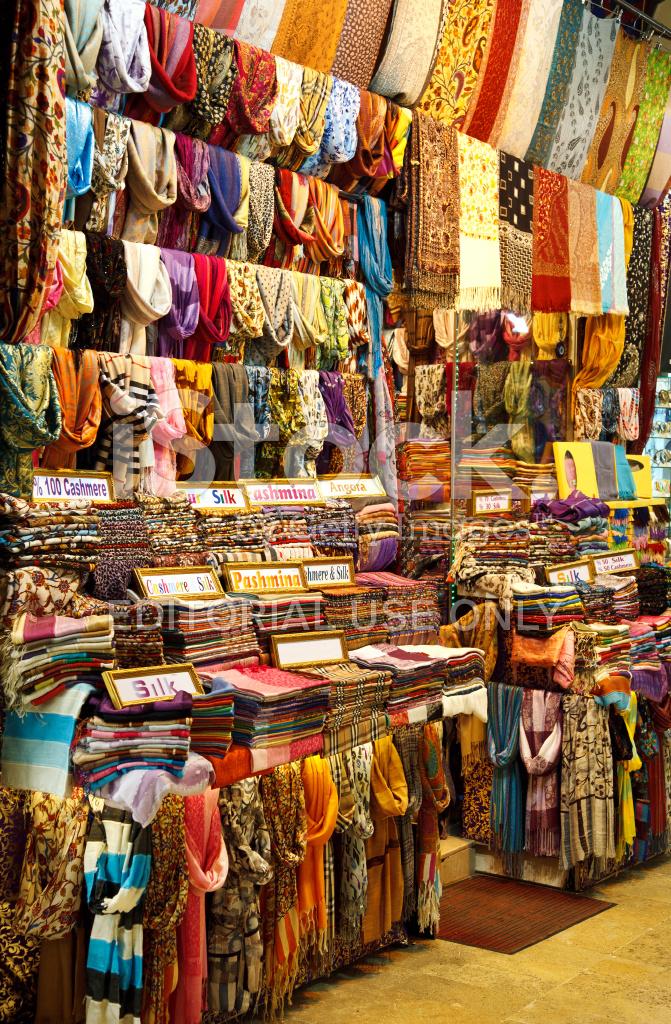 Authentische Orientalische Shop Im Grossen Basar Istanbul Turkei