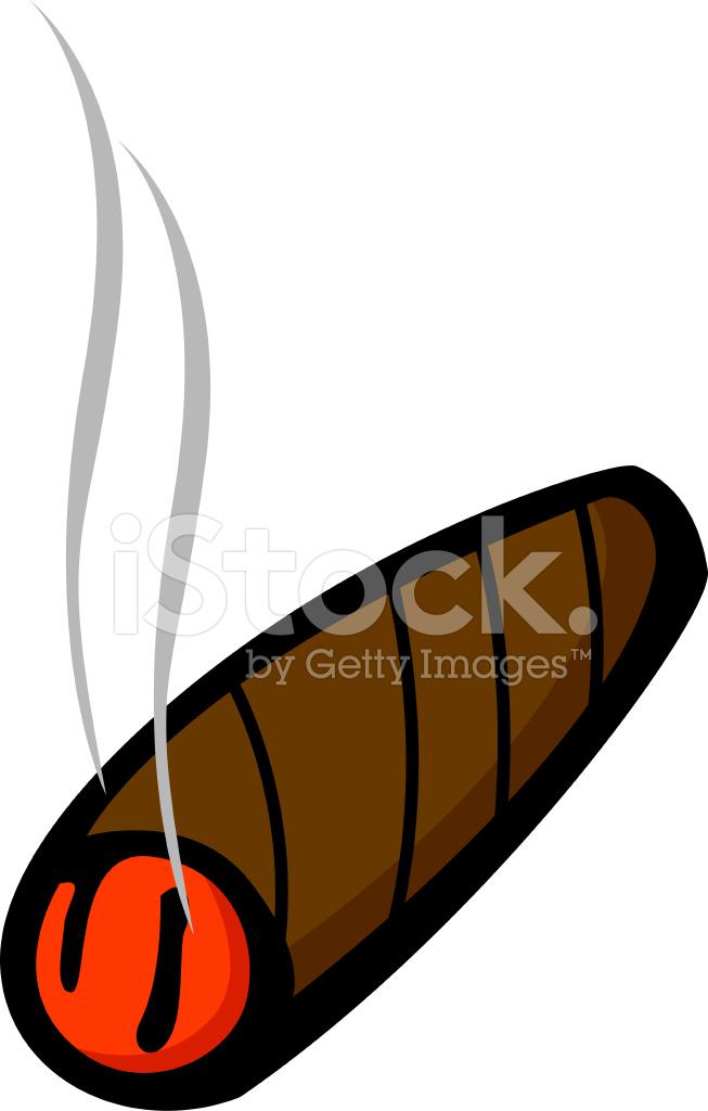 lighted cigar stock vector freeimages com rh freeimages com cuban cigar clipart cigar clipart drawings