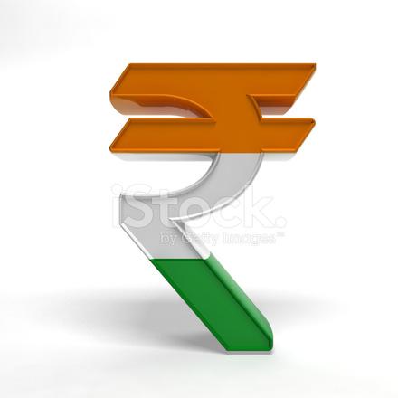 Indiase Rupee Symbool Stockfotos Freeimages
