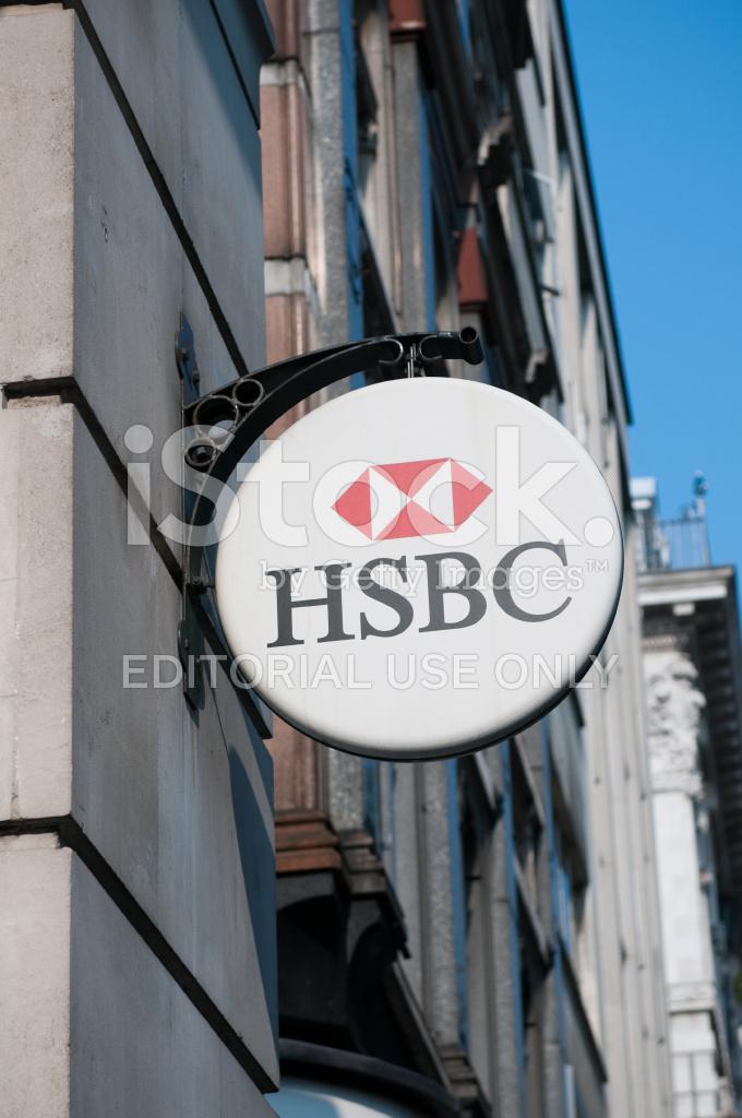 Hsbc Bank Branch Logo, London, UK Stock Photos - FreeImages com