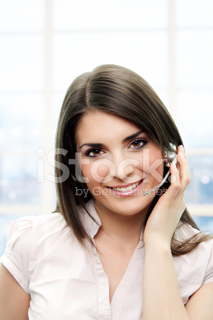 Support Phone Operator In Headset Stock Photos Freeimages Com