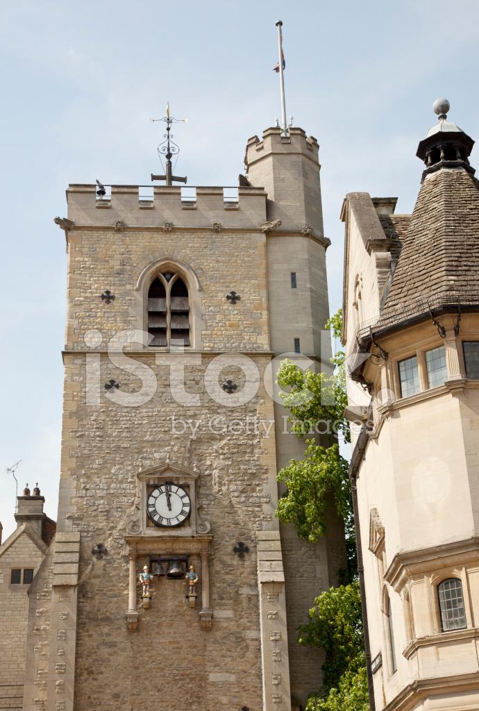 Carfax Tower Oxford Stock Photos Freeimages Com
