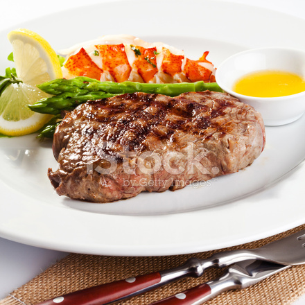 Steak and Lobster Dinner Stock Photos - FreeImages.com