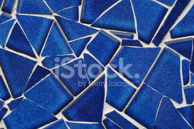 Mosaico di piastrelle blu fotografie stock freeimages