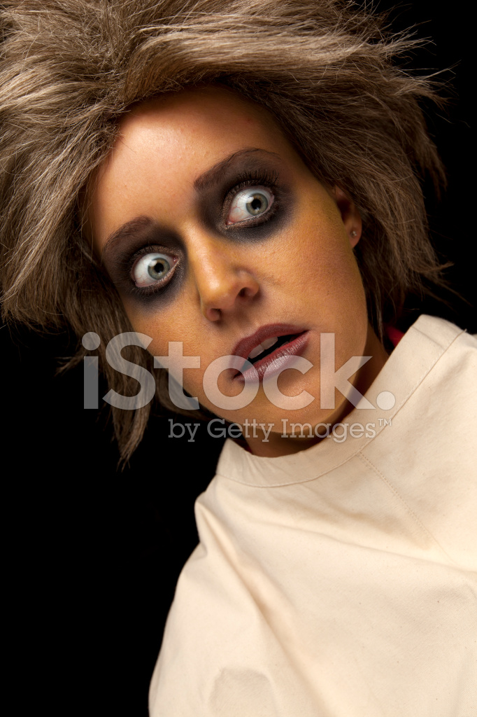 crazy woman in straight jacket stock photos freeimages com