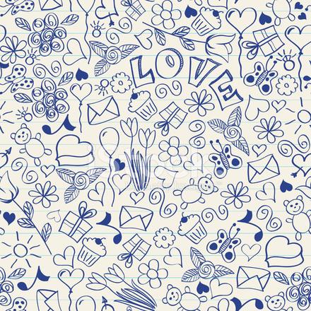 Premium Stock Photo Of Seamless Doodles