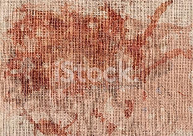 High Resolution Antique Jute Canvas Mottled Grunge Texture