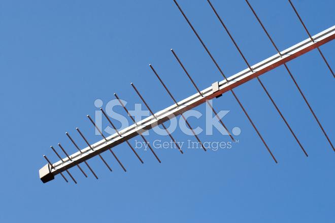 Television Log Periodic Antenna Stock Photos - FreeImages com