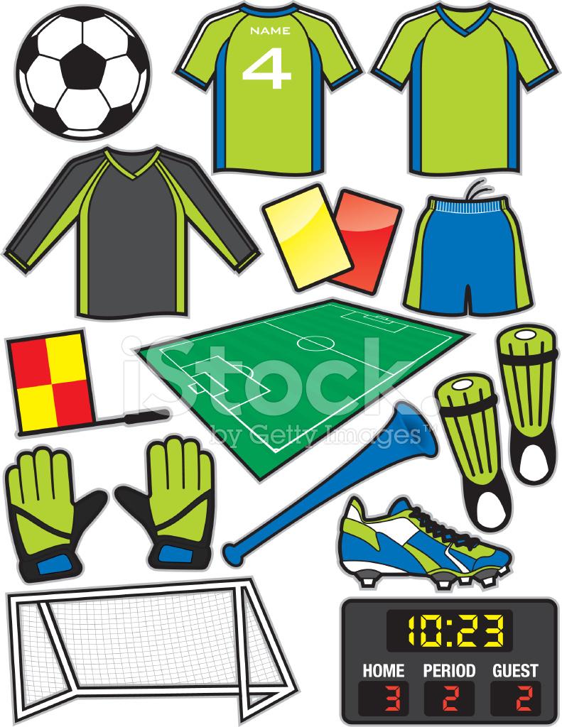 Artigos DE Futebol Stock Vector - FreeImages.com 3cc792b684219