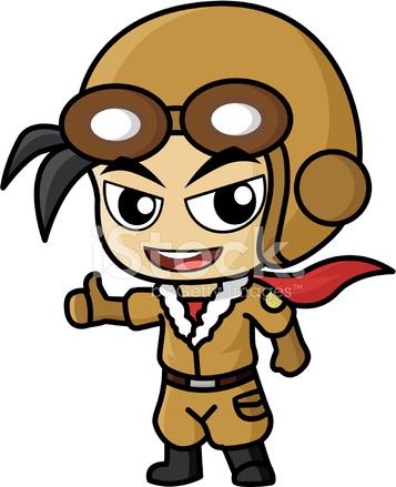 Pilot Cartoon stock photos - FreeImages.com
