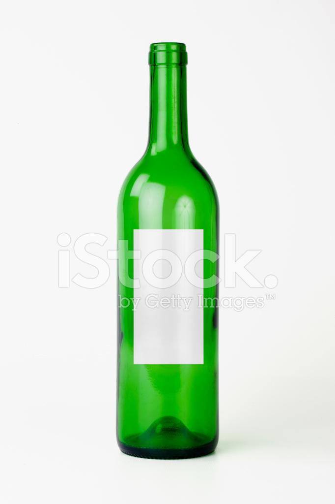 bouteille de vin vide marque blanche photos. Black Bedroom Furniture Sets. Home Design Ideas