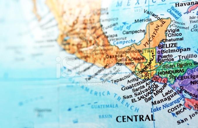 Imagem DO Mapa Da América Central Fotos do acervo - FreeImages.com