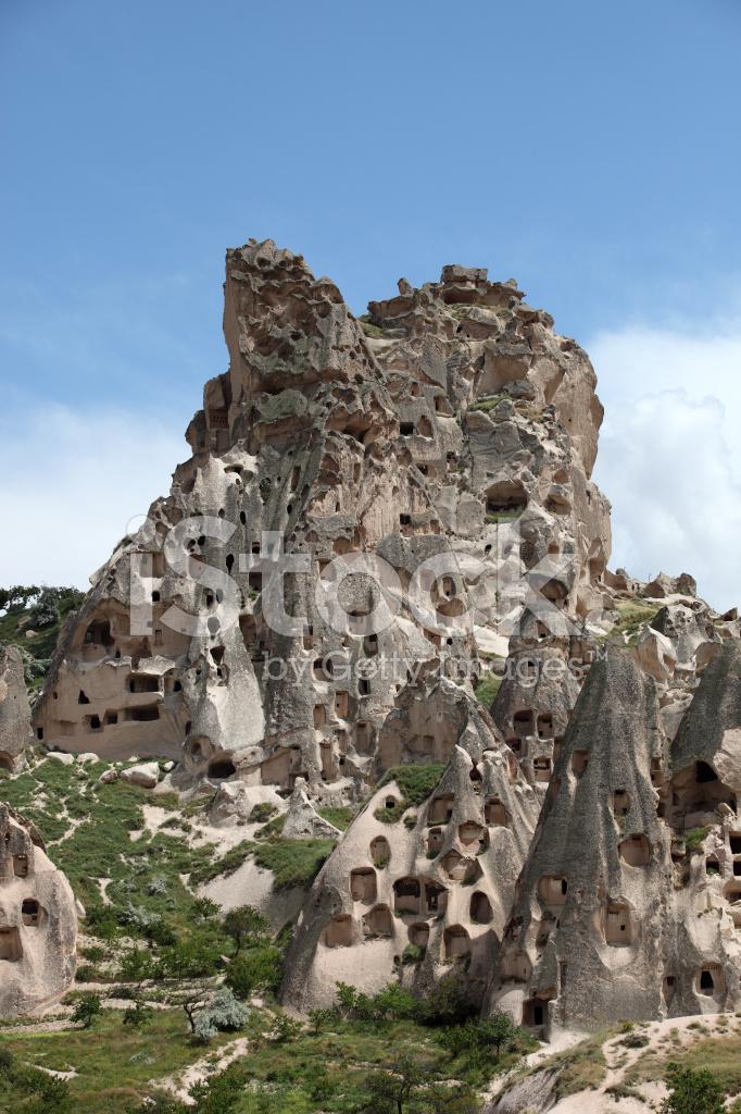 Uchisar Castle stock photos - FreeImages.com