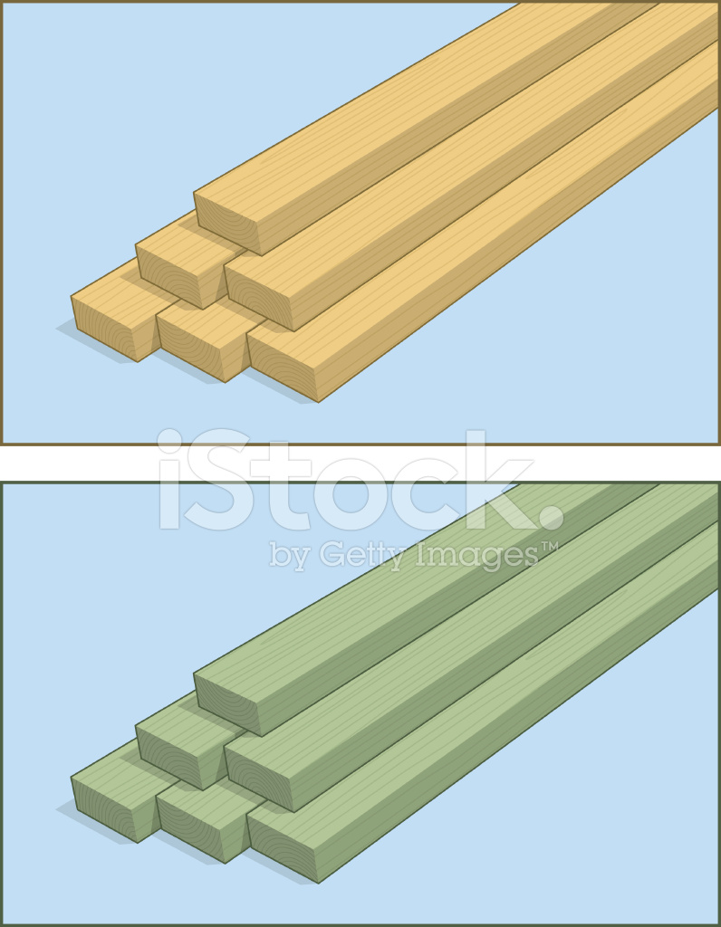 Stacked 2x4 Lumber Stock Vector - FreeImages com