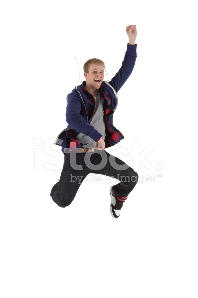 Man Jumping In Excitement Stock Photos Freeimages Com