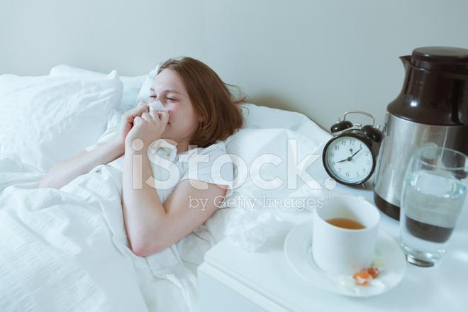 Vila vid förkylning