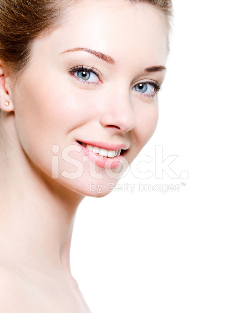 smiling woman face