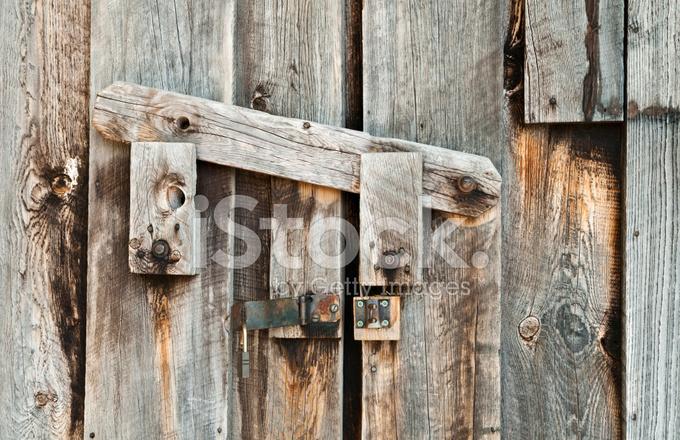 Wooden Barn Door Latch Close Up Stock Photos Freeimages Com