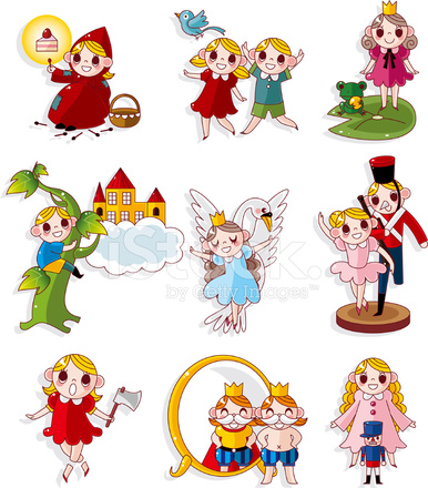 cartoon fairy tale story people icons set stock vector Free Clip Art Medical Icons Medical Office Clip Art Free
