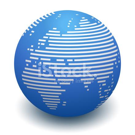 globe line map europe asia