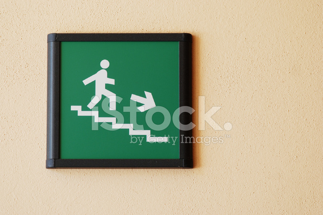 emergency stairs exit sign stock photos freeimagescom