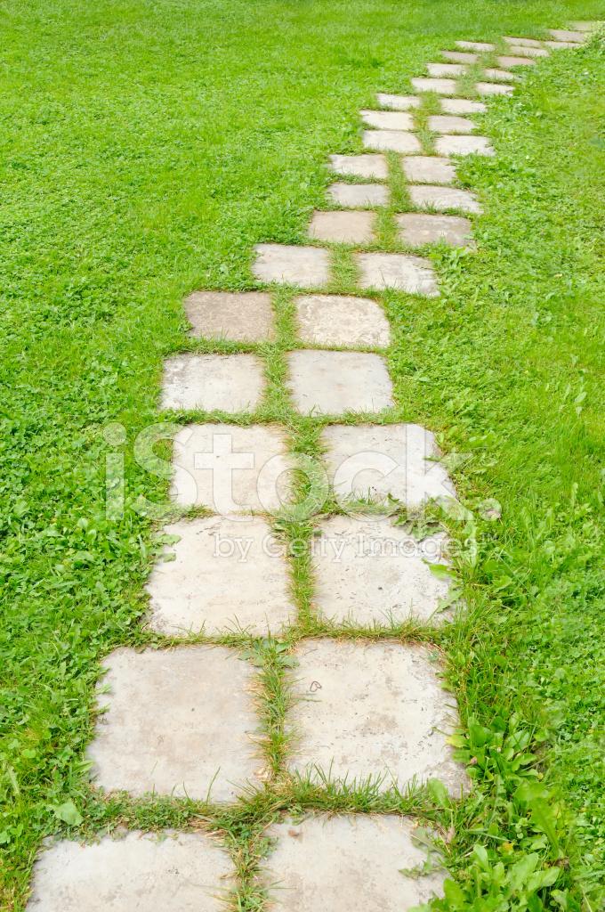 tiled garden path stock photos freeimagescom