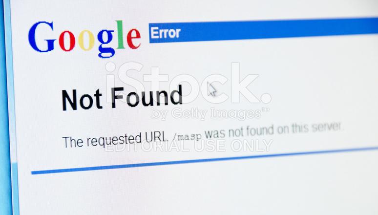 d549ccf6b4d Sitio Web DE Google Con Error 404 No Encontrado Fotografías de stock ...