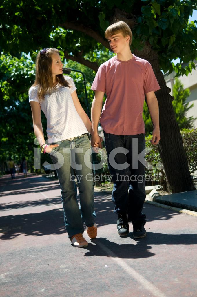Real teens kissing new