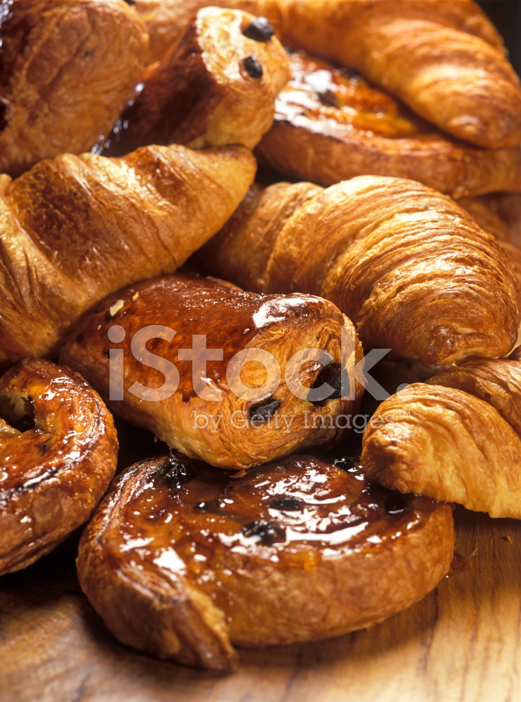 Croissants and Danish Pastry stock photos - FreeImages.com