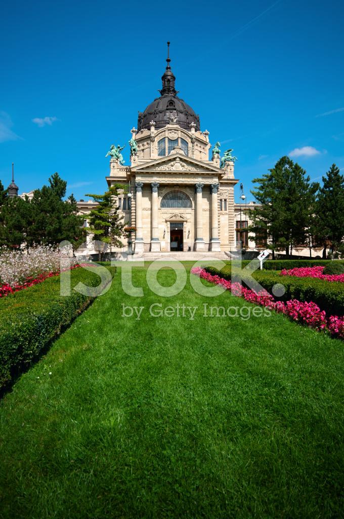 Bagno Szechenyi, Budapest, Ungheria Fotografie stock - FreeImages.com