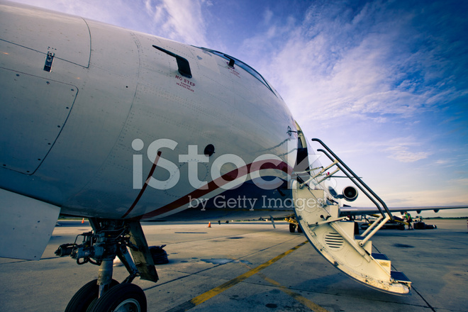 Premium Stock Photo Of Small Jet Boarding Stairs