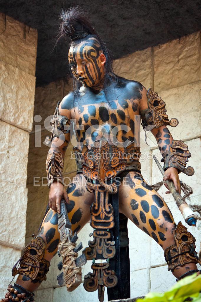 Mayan Warrior Stock Photos