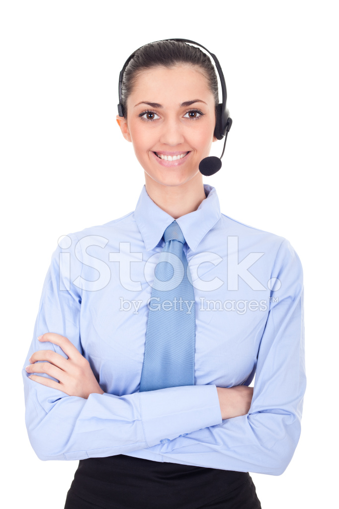Phone Operator In Headset Stock Photos Freeimages Com
