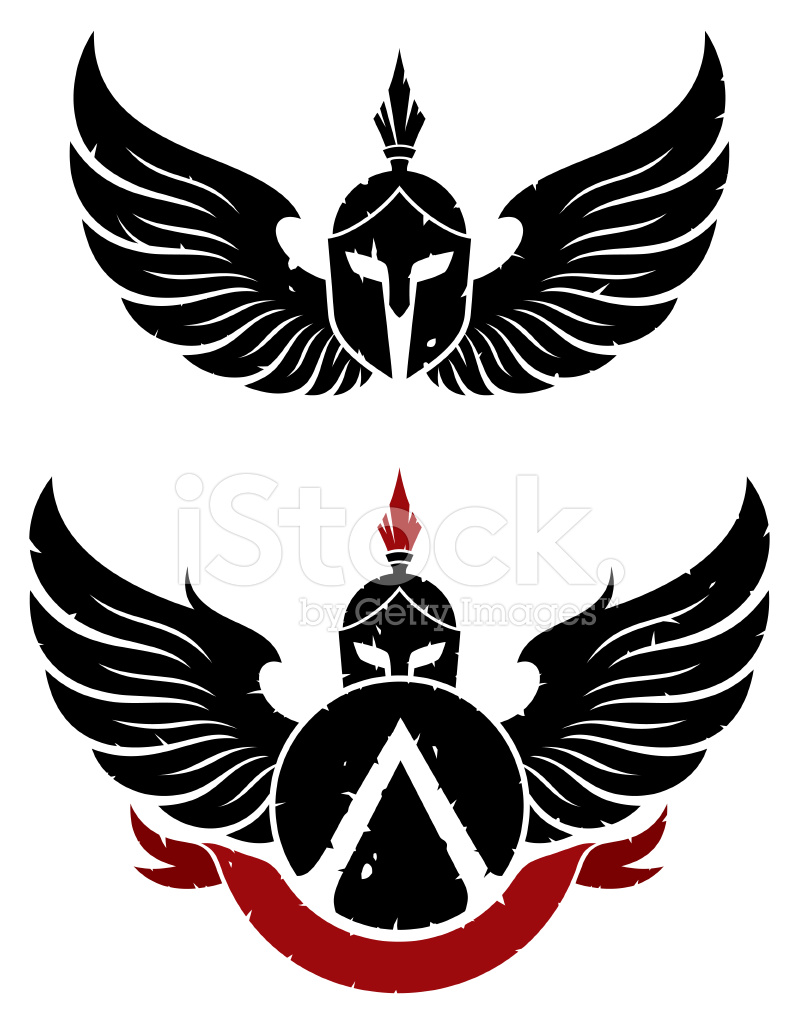 Coat Of Arms Sparta Stock Vector FreeImagescom