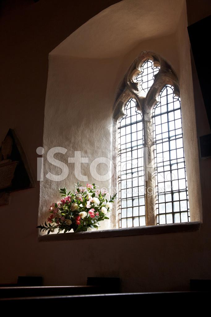 Premium Stock Photo Of Welsh Country Church Interior Window