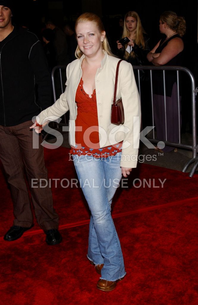 Melissa Joan Hart AT Los Angeles Premiere Of The Hot Chick Stock