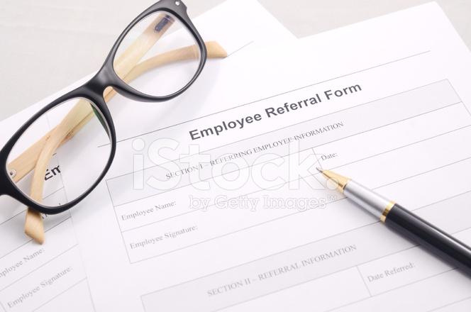 Employee Referral Form   Employee Referral Form Stock Photos Freeimages Com