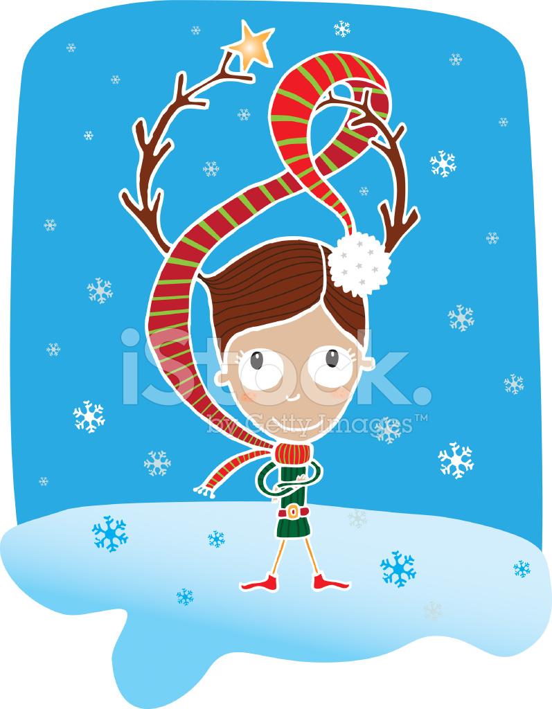 Reno DE Navidad Elfo fotografas de stock  FreeImagescom