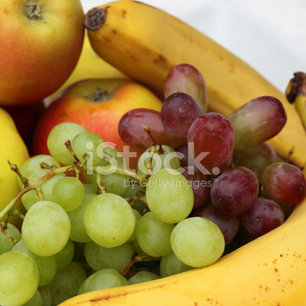 Grapes And Banana Pictures