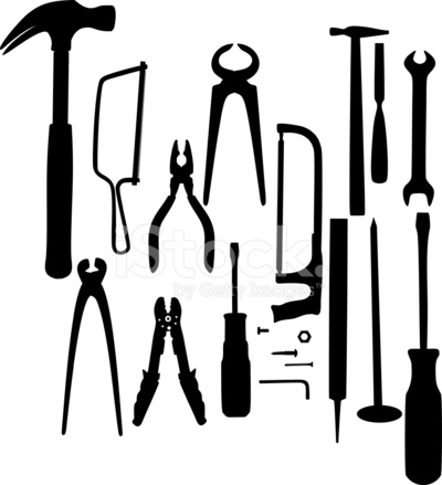 Tool Silhouettes Stock Vector - FreeImages.com
